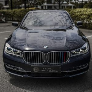 Rent a BMW 740Le Xdrive in KL/Malaysia