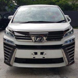 Rent a Toyota Vellfire Robot Full Spec in Penang/Malaysia