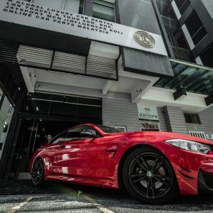 Rent A BMW 428i convert M4 in JB/Malaysia