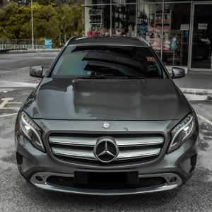 Rent a Mercedes GLC200 in KL/Malaysia