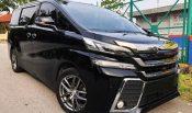 toyota vellfire car rental in kuala lumpur malaysia